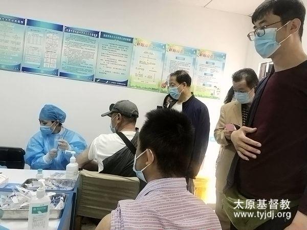 同心抗疫 共筑防线——桥头街堂教牧同工接种新型冠状病毒疫苗